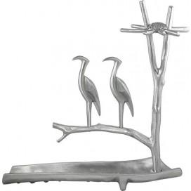 Large Heron Menorah By Shraga Landesman