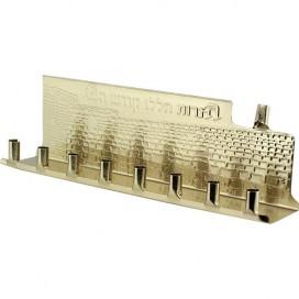Simple Basic Tin Menorah - 5 units