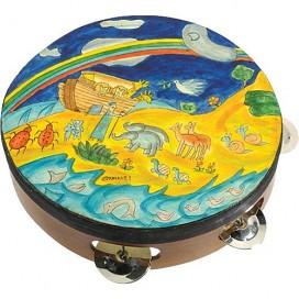 Noah's Ark Tambourine by Yair Emanuel
