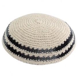 Off-White Knitted Kippah