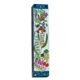 Land Flowing With Milk And Honey Mezuzah