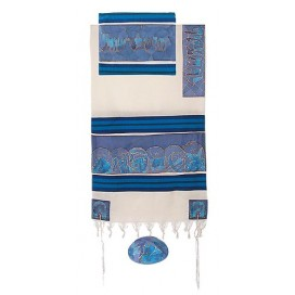 Yair Imanuel-Twelve Tribes In Blue Tallit