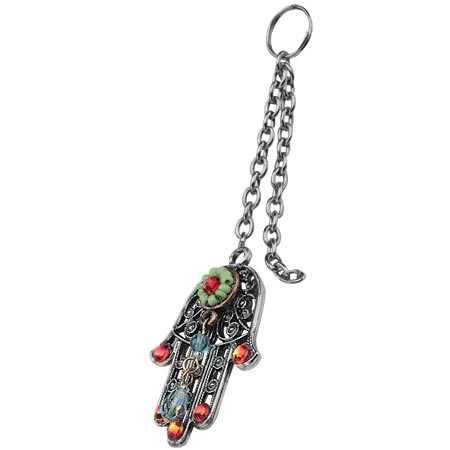 Colorful Stones Key Chain