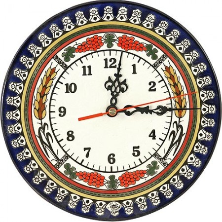 Medium Size ceramic Armenian Clock