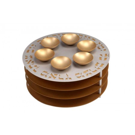 3-Level Seder Plate by Agayof