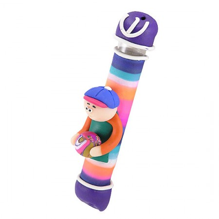 Boy Children Mezuzah