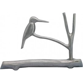 Kingfisher Menorah by Shraga Landesman