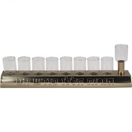 Lovely Oil Burning Chanukah Menorah - 6 units