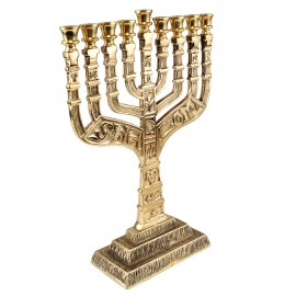 Beautiful 9 Branch Hanukkah Menorah