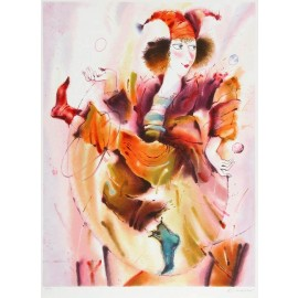 The Harlequin  25x34.5 / 64x88cm  Serigraph 1996