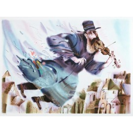 Fiddler on the Roof  38.5x26.5 / 98x68cm  Serigraph  1995
