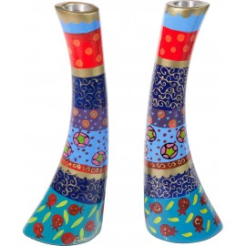 Colorful Stylized Candlesticks by Yair Emanuel