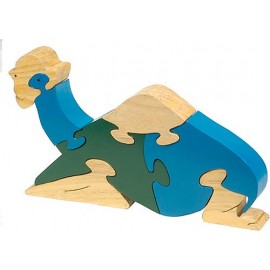 Sitting Camel Wooden Puzzle
