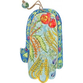 Large 7 Species Hamsa
