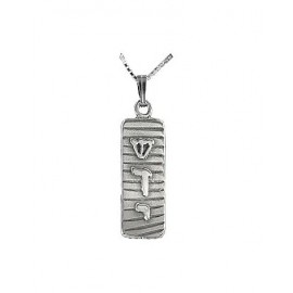 Contemporary Shaddai Mezuzah Pendant