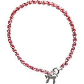 Red String Kabbalah Bracelet with Chai