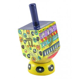 Colorful Wooden Dreidel