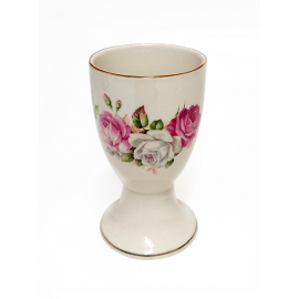 Floral Ceramic Kiddush Cup