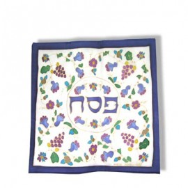 Silk Matzah Cover - Armenian