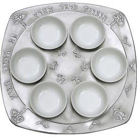 Nightingale Seder Plate by Shraga Landesman