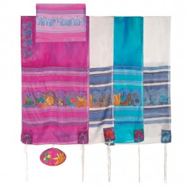 Yair Imanuel The Twelve Tribes Silk Tallit