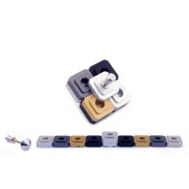 Bar Mitzvah Traveling Dreidel and Menorah in One by Agayof