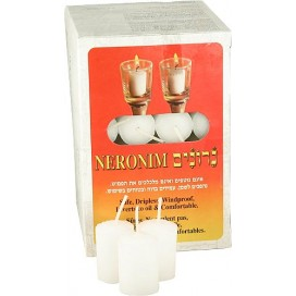 Neronim - Kosher Dripless Shabbat Candles