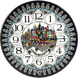 Armenian Jerusalem Clock
